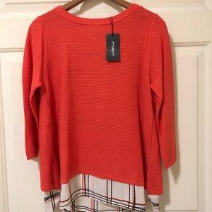 Sweaters - Mixed Media Sweater